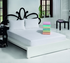 JACQUARD TERRY FITTED SHEET