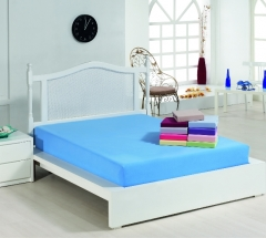 INTERLOCK(DOUBLE JERSEY) FITTED SHEETS